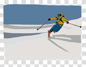 Alpine skiing Ski Bindings Ski Poles Piste, skiing PNG clipart