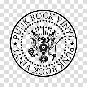 Ramones Logo Music T-shirt Punk rock, vinyl PNG clipart