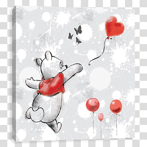 Winnie-the-Pooh Art Canvas The Walt Disney Company, winnie the pooh PNG