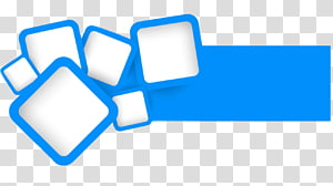 Square Blue, square PNG
