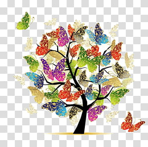 watercolor tree PNG