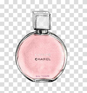 Chanel Chance perfume bottle painting, Chanel No. 5 Coco Perfume , perfume PNG clipart