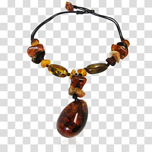 Amber Necklace Bead Bracelet, necklace PNG
