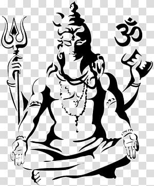 Shiva Drawing Parvati Sketch, Harihara PNG clipart