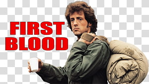 Sylvester Stallone First Blood John Rambo Film, Movies PNG