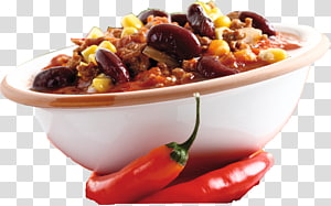 Chili con carne Vegetarian cuisine Dish Food Main course, chilly PNG clipart