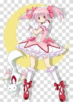 Homura Akemi Madoka Kaname Kyubey Mami Tomoe Sayaka Miki, Anime PNG clipart