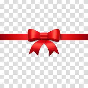Ribbon Christmas , horizontal line PNG