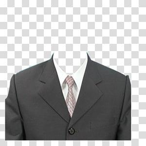 Formal wear Suit Clothing Dress, Passport, men's black notched lapel suit PNG