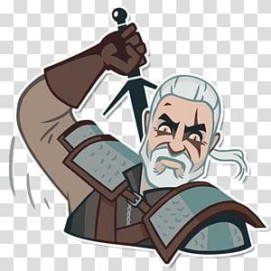 The Witcher 3: Wild Hunt Geralt of Rivia Telegram Video game, Vedmak PNG