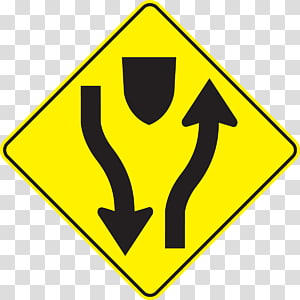 High Five Interchange Highway Traffic sign Road Warning sign, road PNG