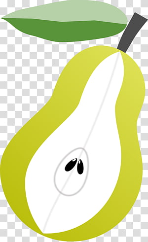 Pear Fruit , Green pear PNG clipart