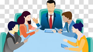 Business consultant Public Relations Management, board meeting PNG clipart