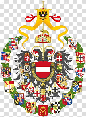 Holy Roman Empire House of Habsburg Dreh dich nicht um: Roman Holy Roman Emperor Coat of arms, divided PNG
