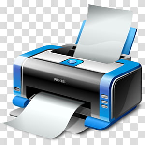 white and blue all-in-one printer, Printer driver Hewlett Packard Enterprise Laptop Computer, Printer PNG