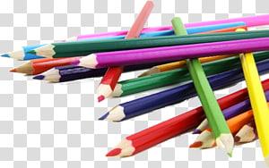 Paper Colored pencil Drawing, pencils PNG clipart