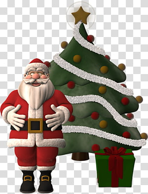 Santa Claus Village Christmas tree Religious festival, santa claus PNG clipart