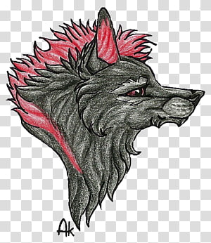 Canidae Demon Dog Snout, wolf spirit PNG