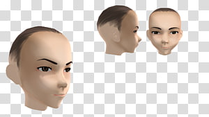 Eyebrow Product design Mannequin Cheek Chin, nose PNG clipart