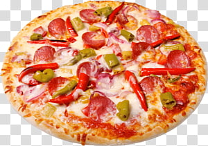 pizza with pepper , Pizza Take-out, Pizza PNG clipart