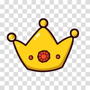 floating cartoon crown PNG clipart
