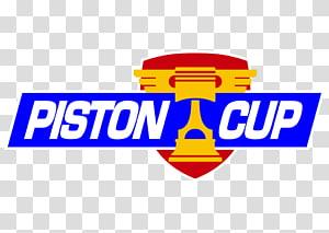 Piston Cup logo, Lightning McQueen Doc Hudson Cars Pixar, PISTON PNG