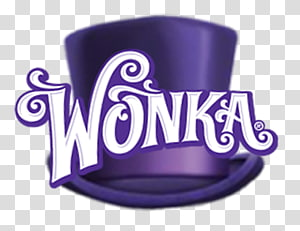 purple Willy Wonka hat illustration, The Willy Wonka Candy Company Wonka Bar Charlie and the Chocolate Factory Charlie Bucket, colored sweets PNG