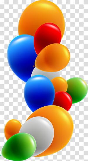 Toy balloon Birthday , balloon PNG clipart