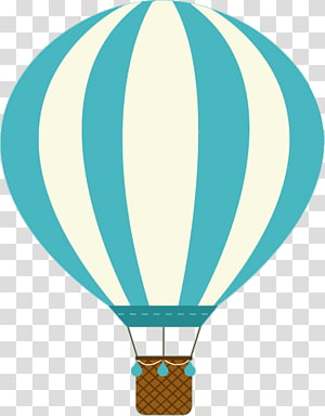teal and brown hot air balloon illustration, Hot air balloon , balloon PNG clipart