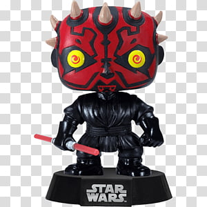 Darth Maul Anakin Skywalker Funko Bobblehead Chewbacca, darth maul PNG clipart