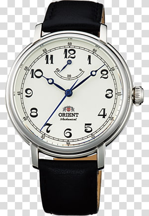 Orient Watch Montblanc Chronograph Clock, orient automatic watches PNG clipart