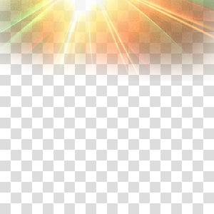 Sunlight, Light effect PNG clipart