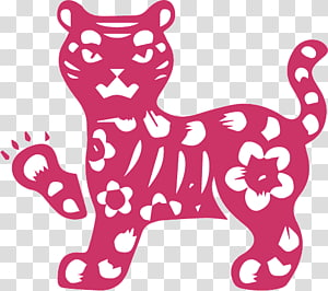 Tiger Chinese astrology Chinese zodiac Dog Horoscope, tiger PNG clipart