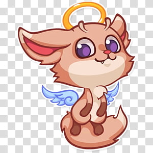 Sticker Telegram Fennec fox , fox PNG
