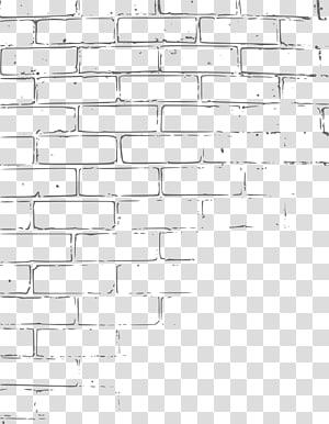 -drawn cartoon of a wall PNG
