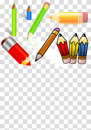 Colored pencil Drawing , classified PNG clipart