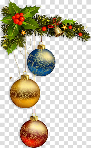 Christmas card New Year Christmas decoration, pearls PNG clipart
