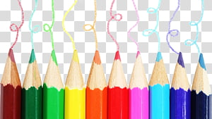 Colored pencil Drawing Desktop , colored pencils PNG clipart