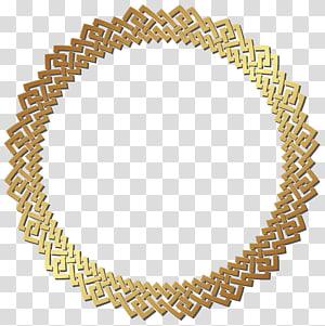 Circle Gold , Round Golden Border Frame , round gold border frame PNG clipart