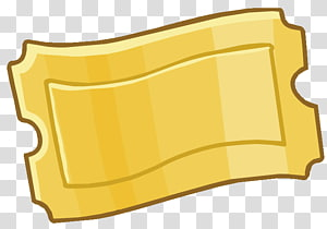 yellow ticket illustration, Willy Wonka Golden Ticket , others PNG clipart