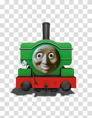 Thomas & Friends Duck the Great Western Engine Percy Edward the Blue Engine, engine PNG clipart