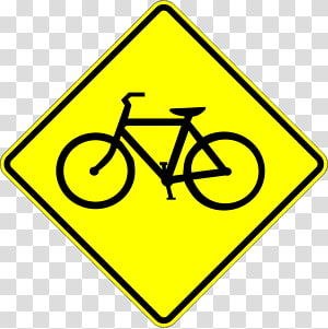 Traffic sign Bicycle Warning sign Stop sign, Bicycle PNG
