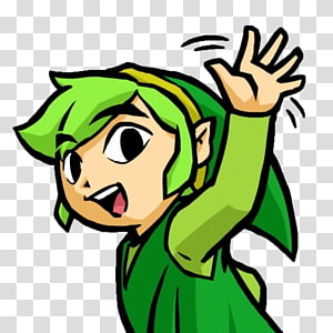The Legend of Zelda: Tri Force Heroes Link The Legend of Zelda: The Minish Cap The Legend of Zelda: The Wind Waker The Legend of Zelda: Phantom Hourglass, others PNG clipart