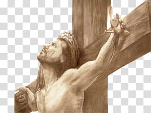 Drawing Christian cross Crucifixion of Jesus Sketch, Religi PNG clipart