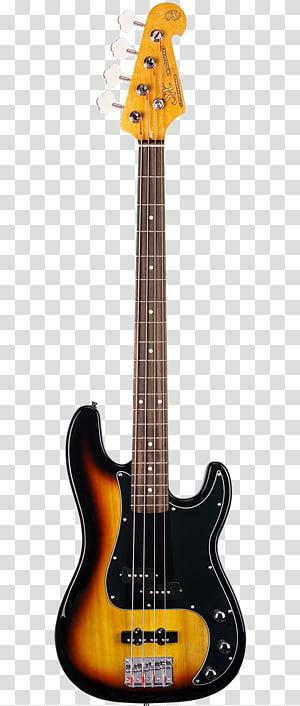 Fender Precision Bass Bass guitar Electric guitar Musical Instruments, bass PNG