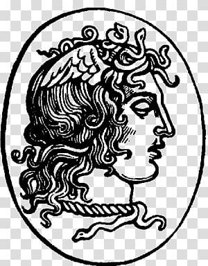 Medusa Greek mythology , greek god PNG