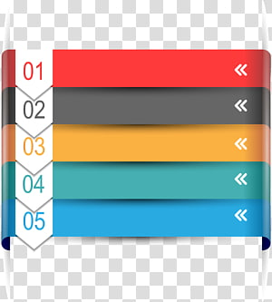 assorted-color templates, Chart Infographic, Digital label PNG