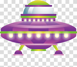SpaceShipOne Spacecraft Unidentified flying object, Purple UFO PNG clipart
