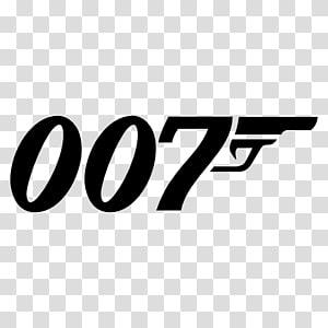 James Bond Logo Graphic design Film, Coffee bean alphabet PNG clipart