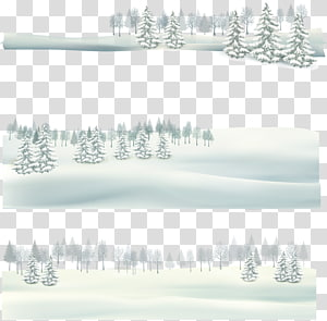 Tree Winter Sky , Snowy PNG clipart